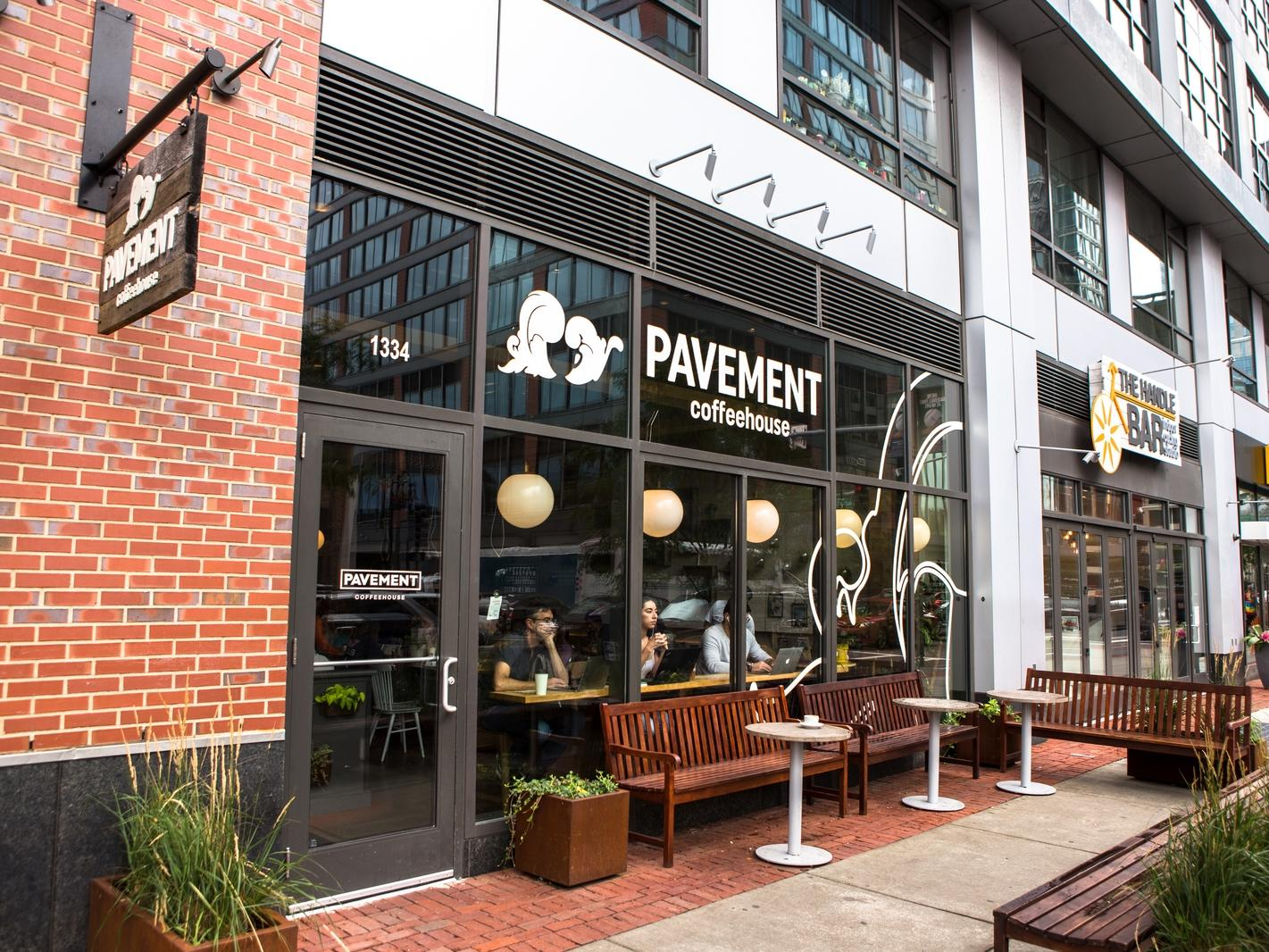 Pavement Coffeehouse Exterior