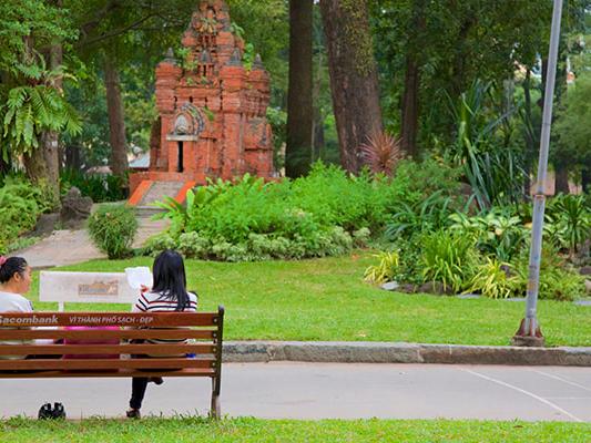Tao Dan Park - Ho Chi Minh City