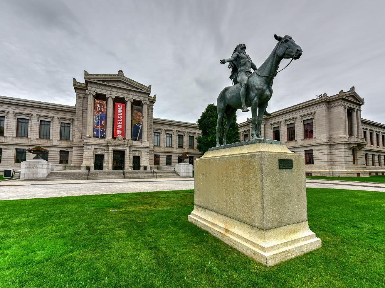 Boston Museum of Fine Arts Exterior