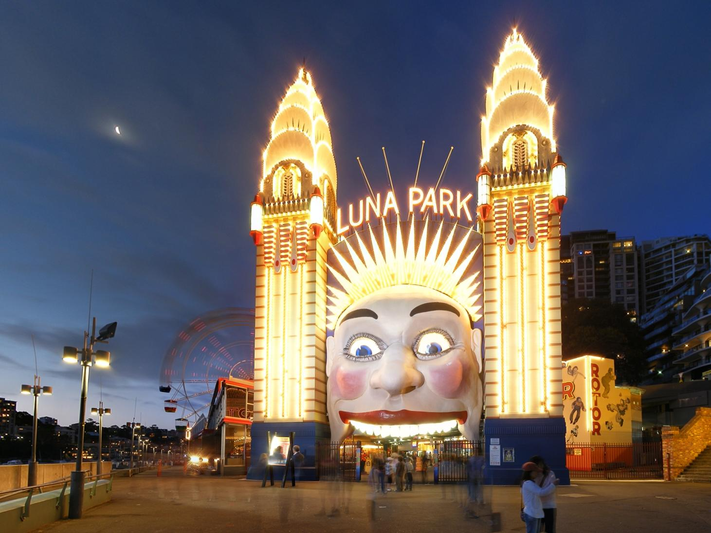 Luna Park next to Silkari Suites at Chatswood