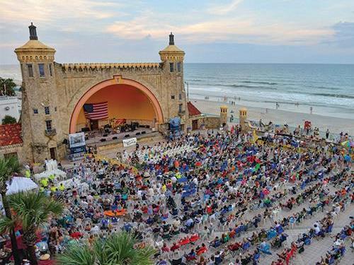 Daytona Beach bandshell.