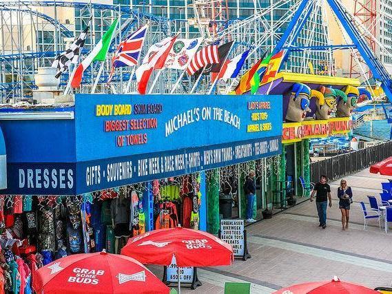Daytona Beach boardwalk.