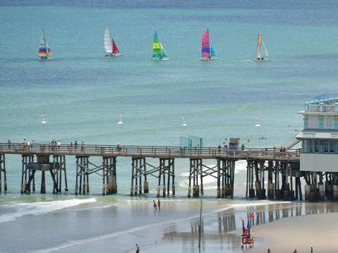 Daytona Beach pier.