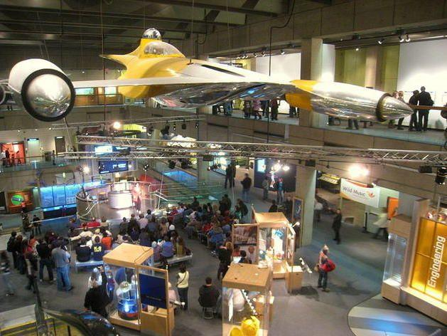 Museum of Science Interior