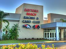 Exterior of Daytona Beach Racing & Card Club.