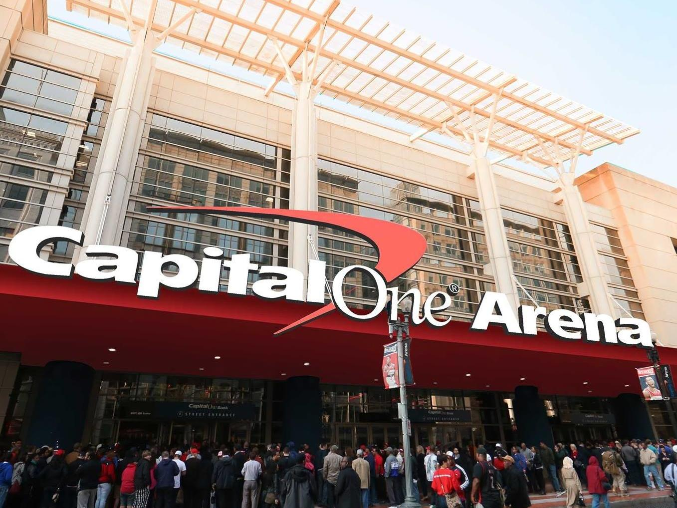 Capital One Arena Exterior