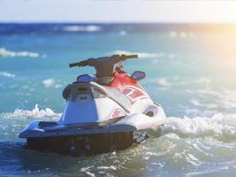 jet ski in water
