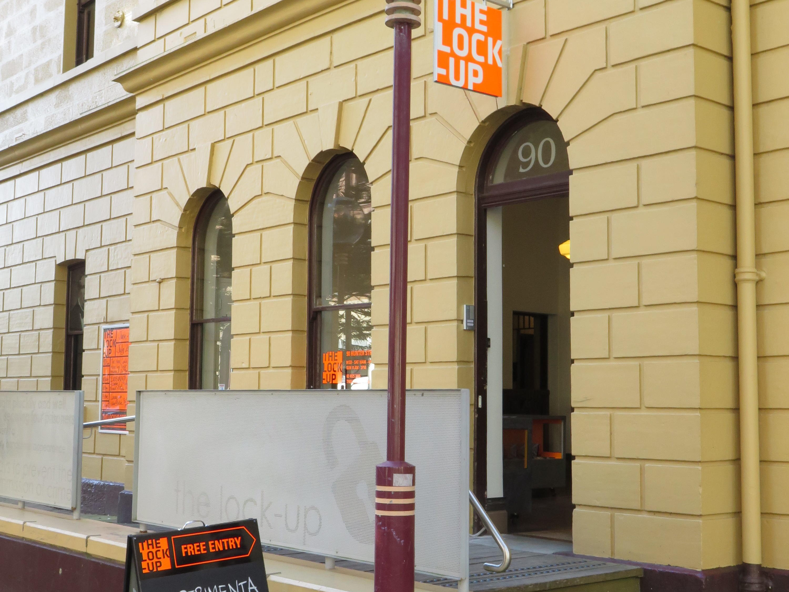 Entrance of The Lock-Up Gallery