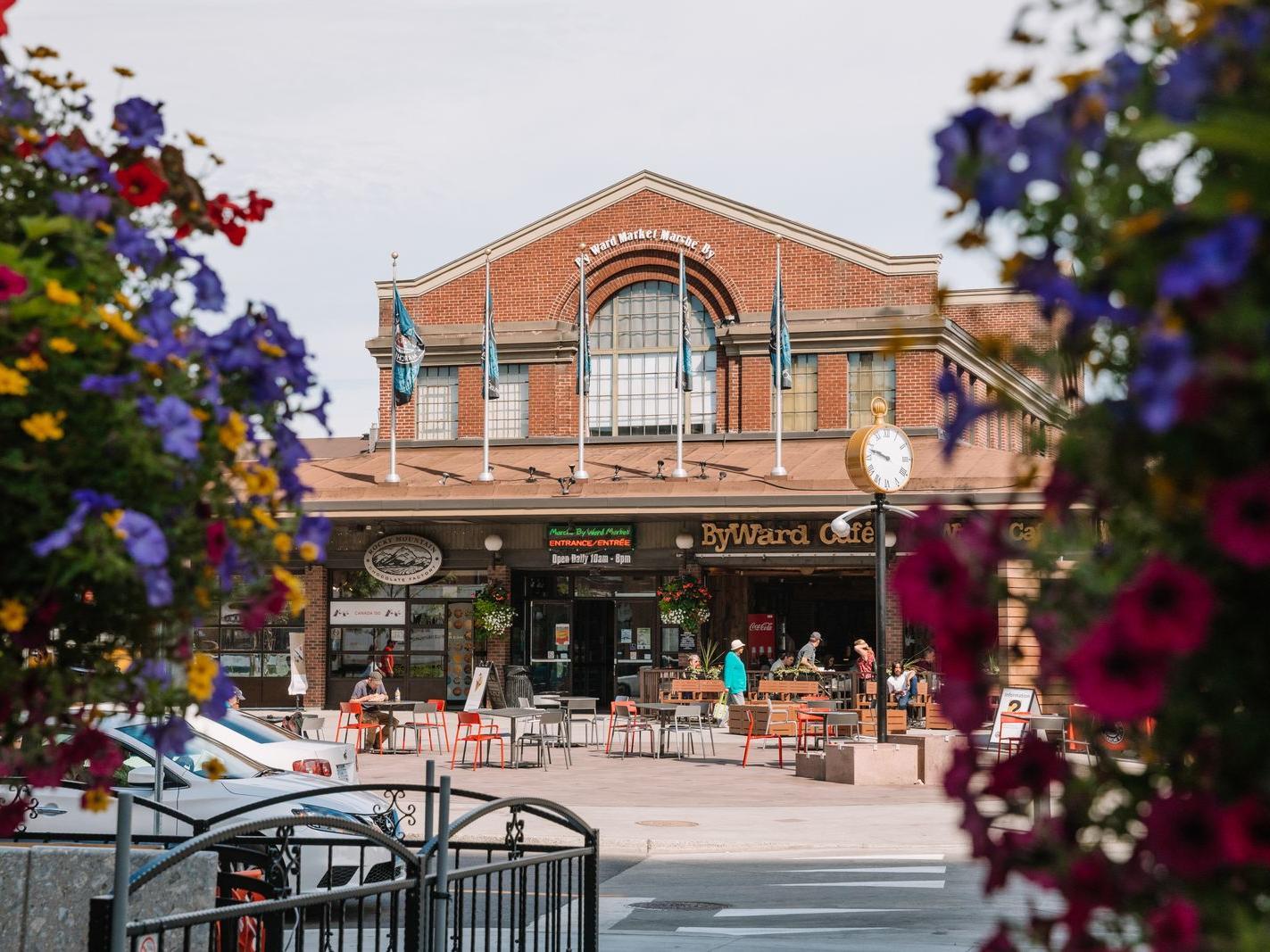 brick exterior of byward market