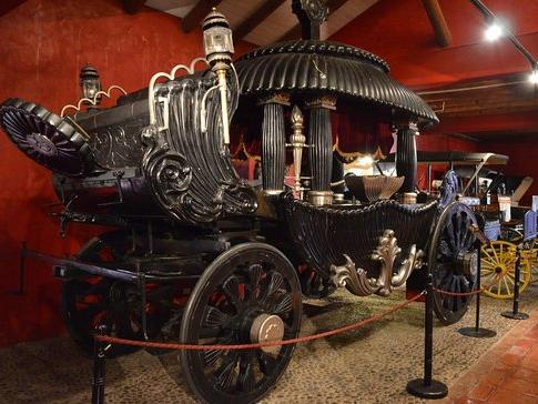 An old car displayed in Colchagua Museum at NOI Blend Colchagua
