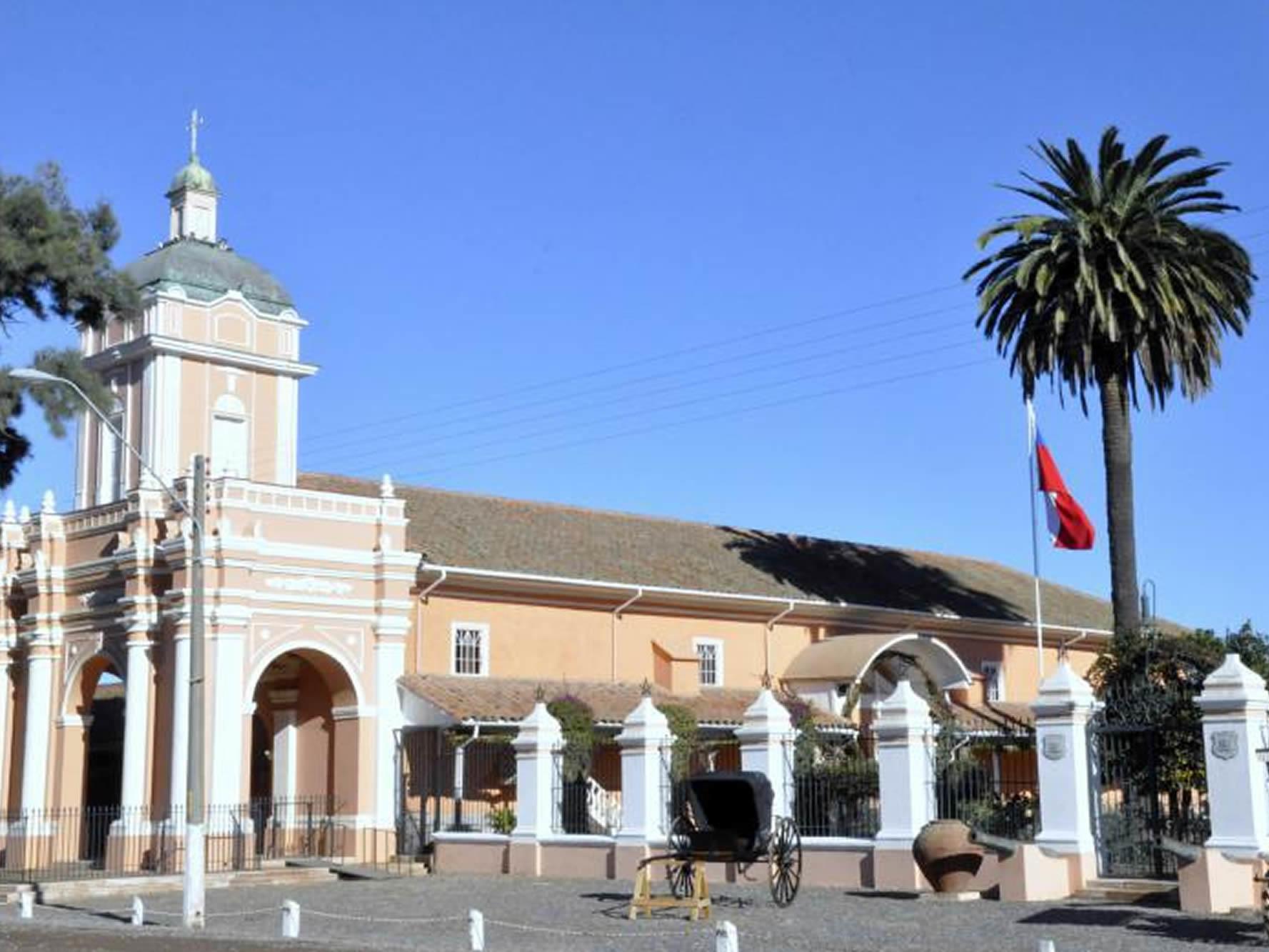 Exterior side view of El Huique Museum at NOI Blend Colchagua