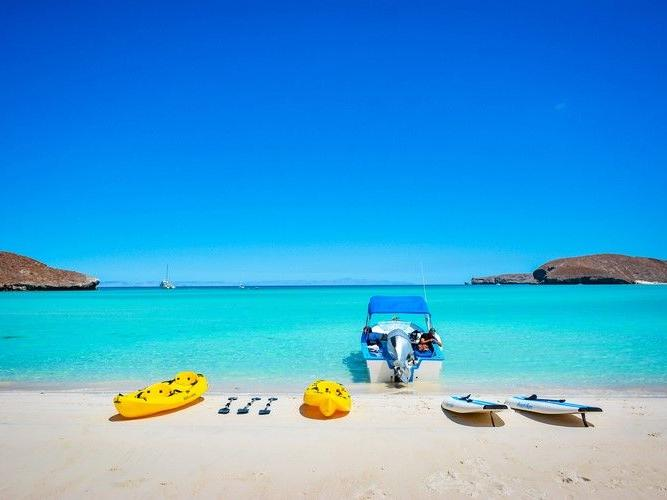 Kayak and paddleboards