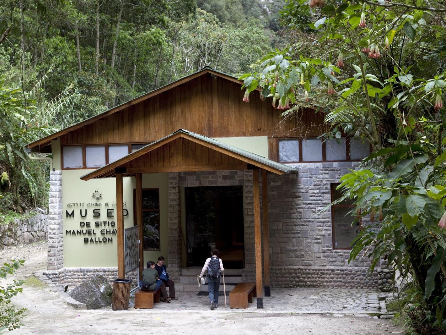Exterior view of Machu Picchu Museum near Hotel Sumaq
