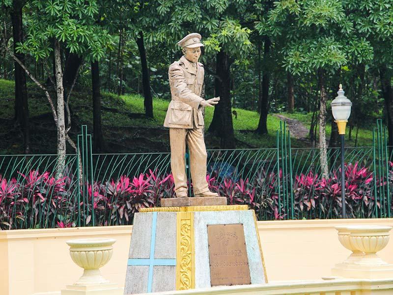 Bogyoke Aung San Statue, near Chatrium Hotel Royal Lake Yangon
