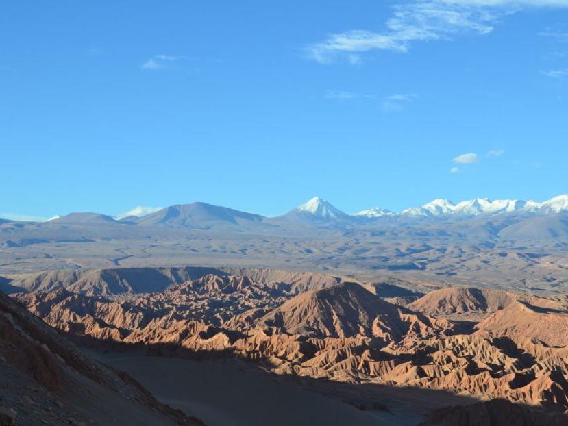view of gorgeous Cornisas Trekking near NOI Casa Atacama hotel