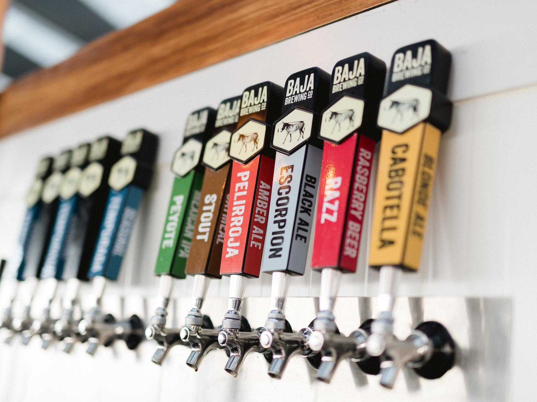 brewery handles