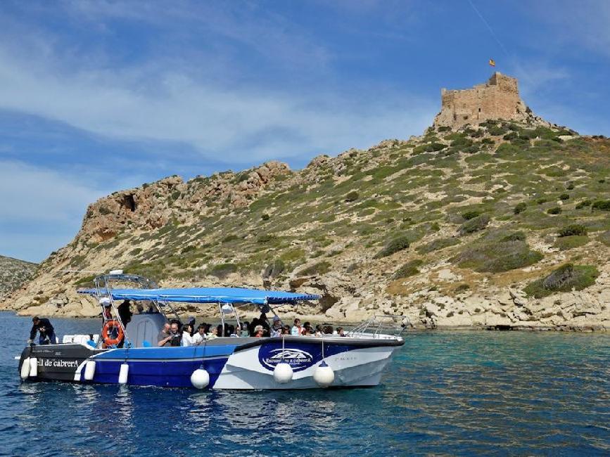 Vistas de cabrera desde el barco | Mallorca