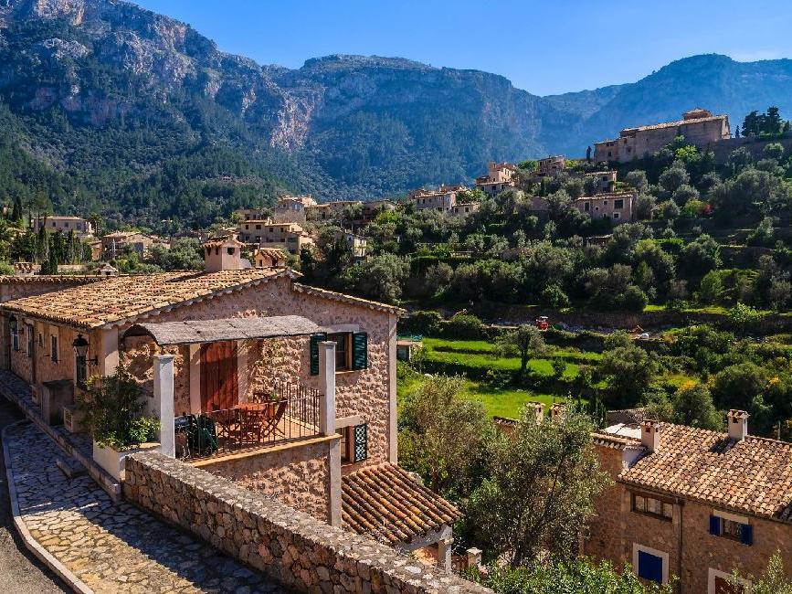 Deià pueblo en Mallorca