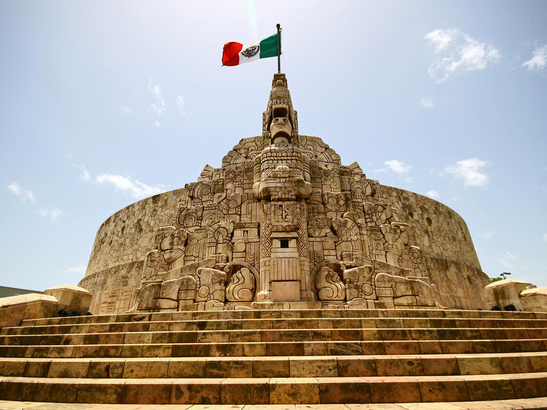 Exterior view of Monumento a la Patria