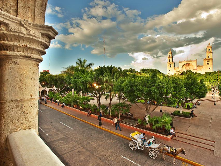 City view of Centro de Merida