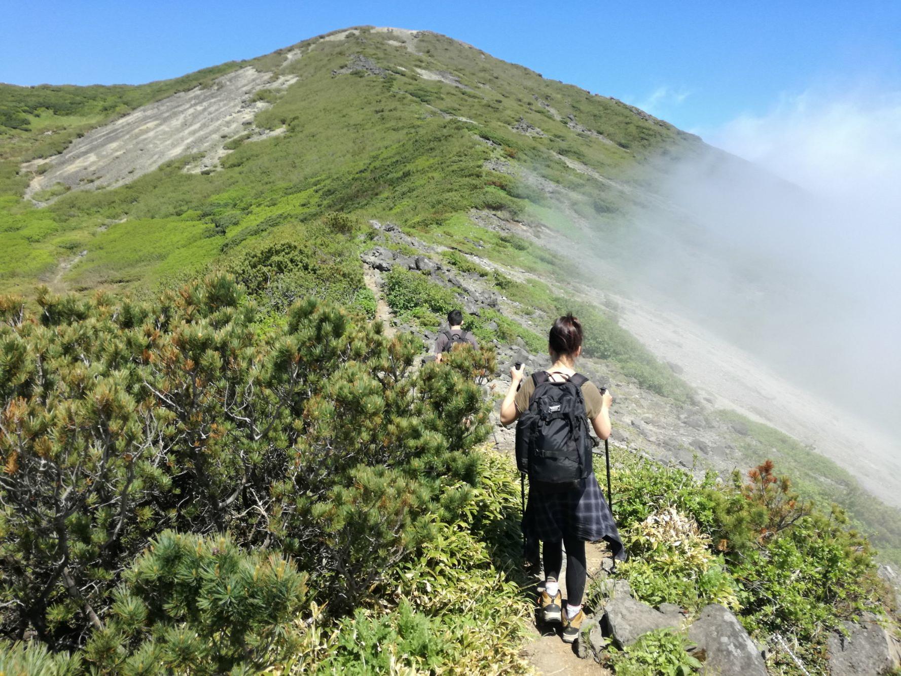 Wonderful countryside hiking in Niseko near Chatrium Niseko Japan