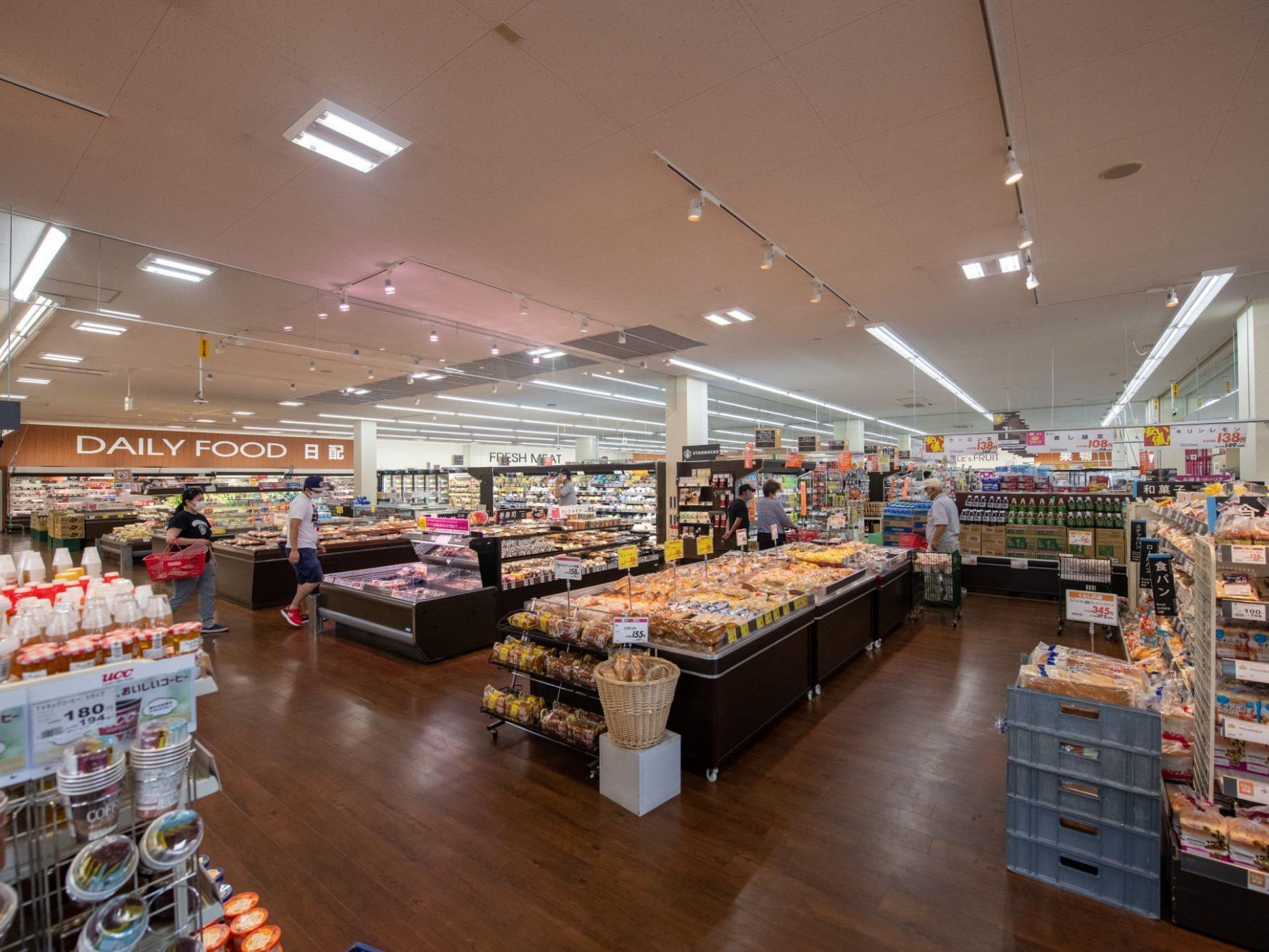 Inside of Kutchan supermarkets near Chatrium Niseko Japan