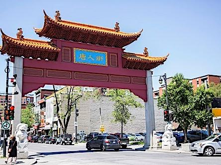 Chinatown at Montreal