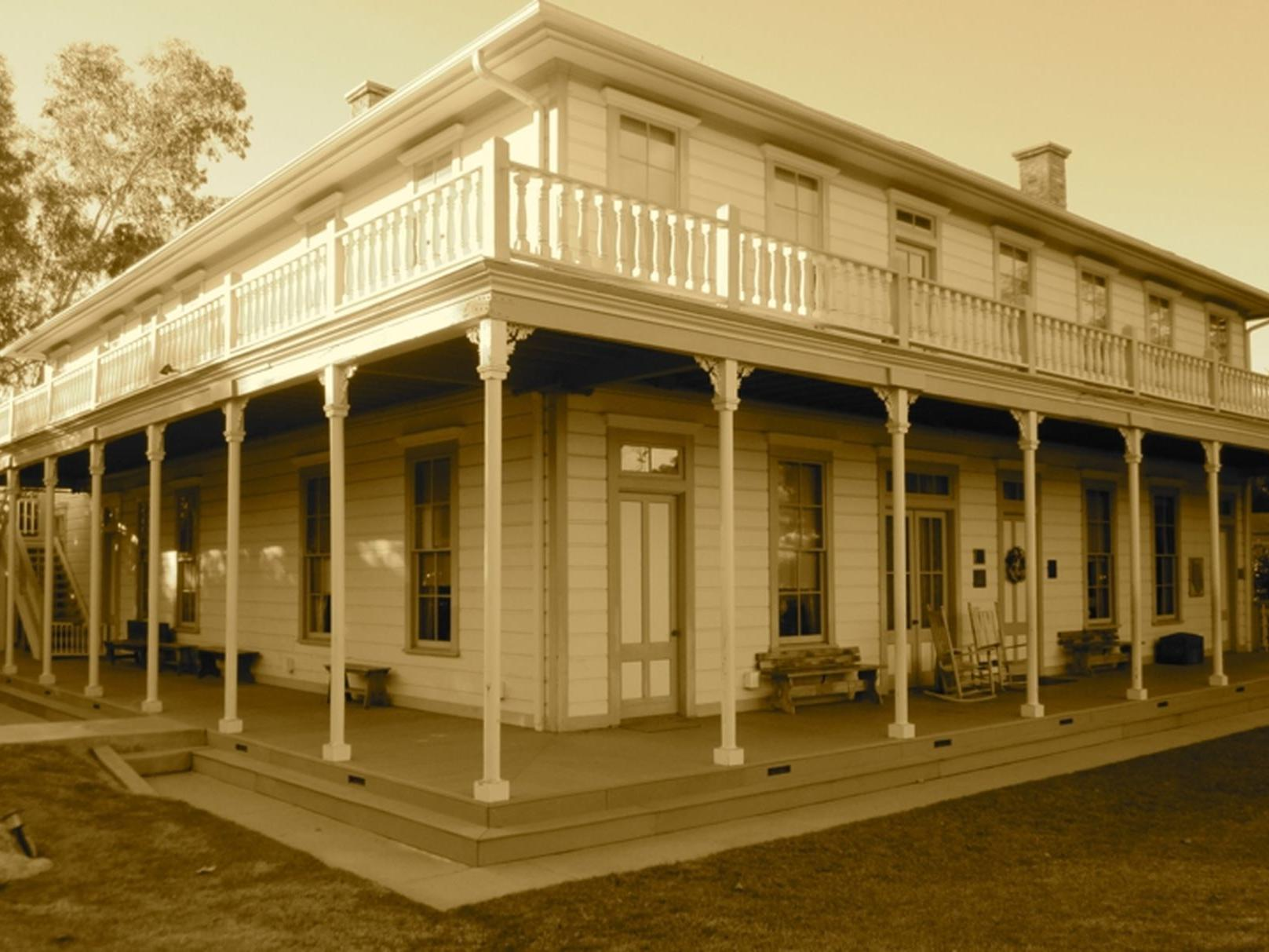 historic looking building