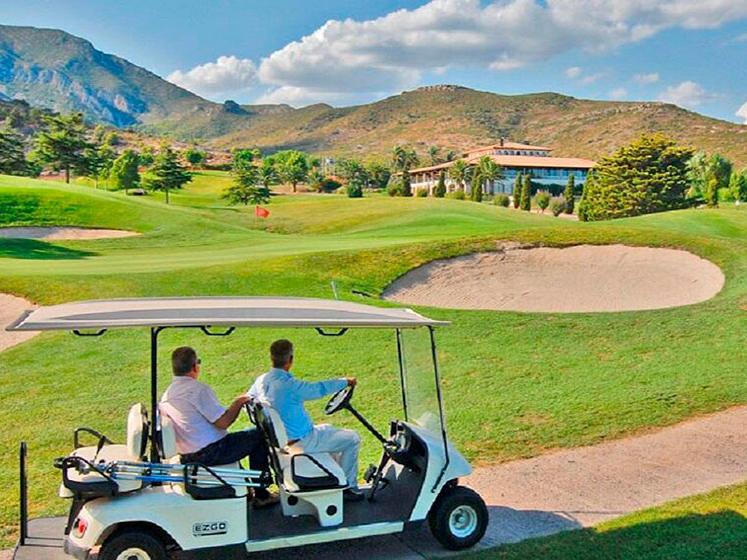 Golf-Wagen