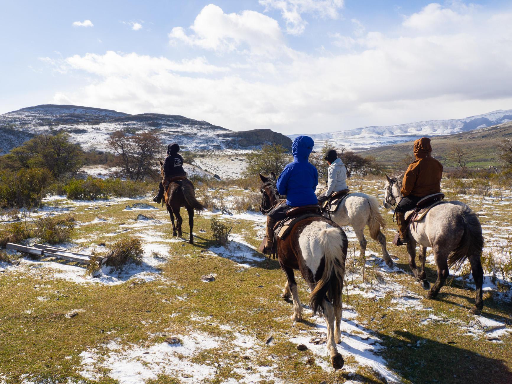 Excursiones de cabalgata Patagonia