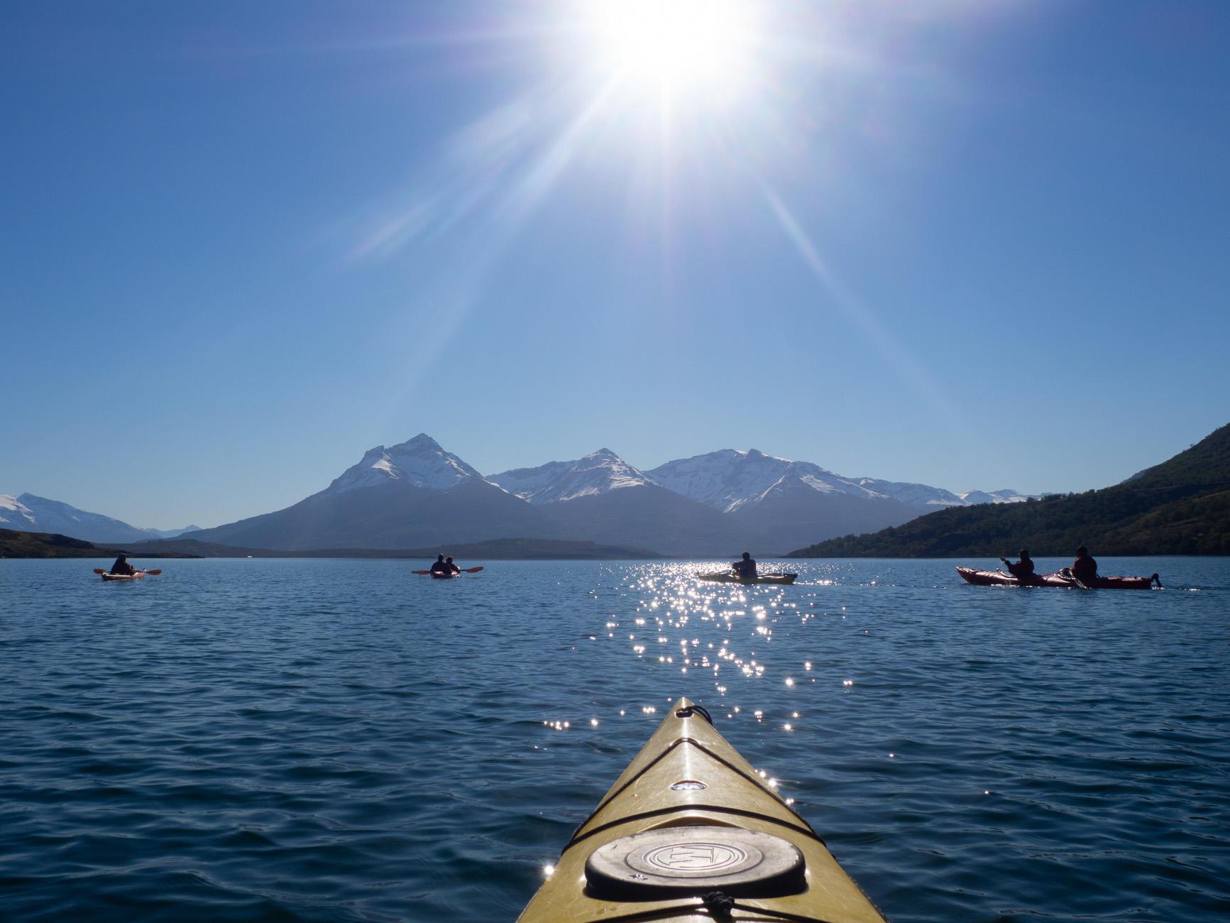 Excursion Kayak Patagonia