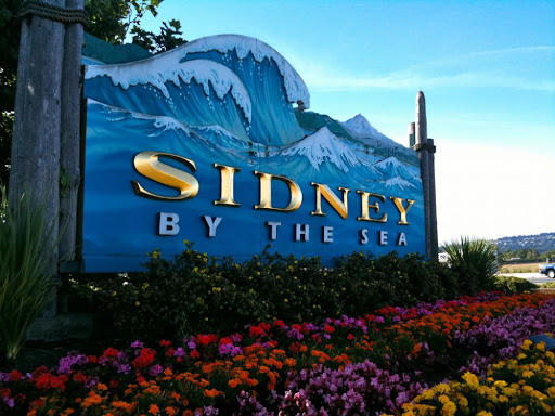 sidney by the sea sign