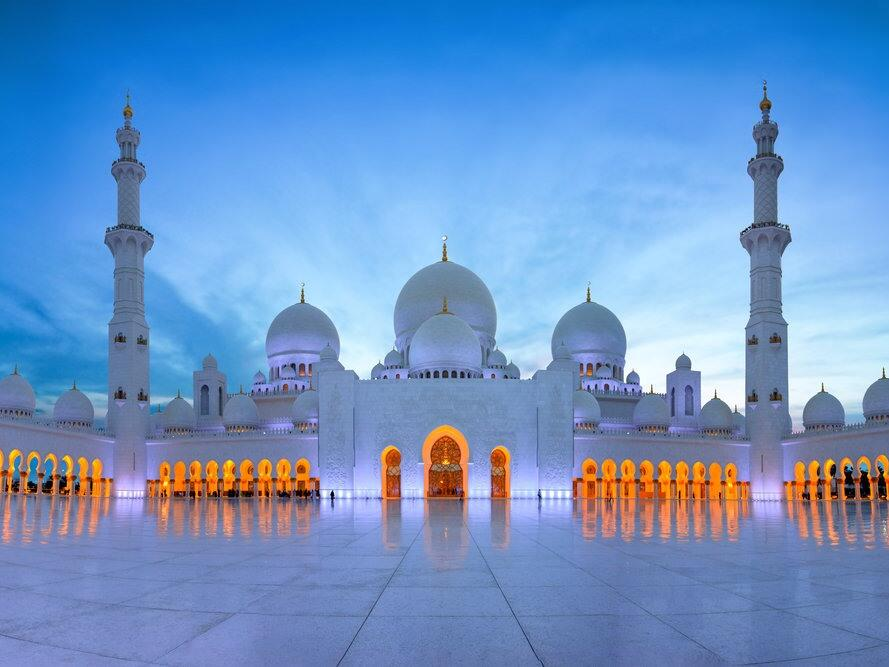 Sheikh Zayed Grand Mosque Dubai