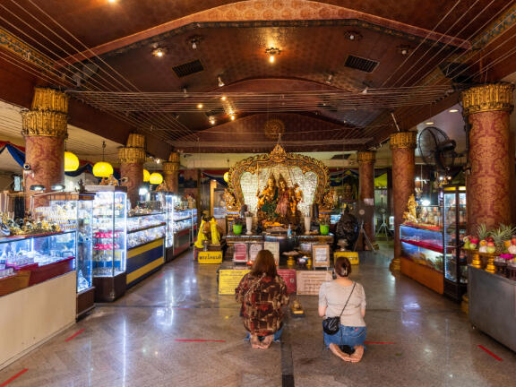 Shrine of Ganesha Shrine Ratchadapisek near Maitria Hotel Rama 9 Bangkok
