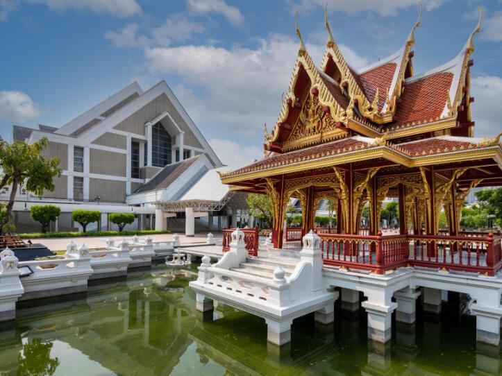 The Thailand Cultural Centre near Maitria Hotel Rama 9 Bangkok
