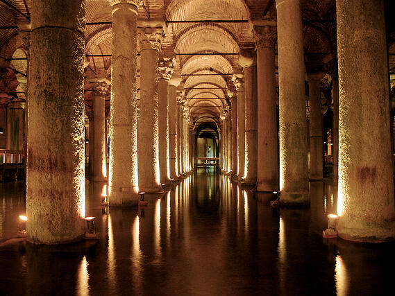 Basilica Cistern Eresin hotels sultanahmet