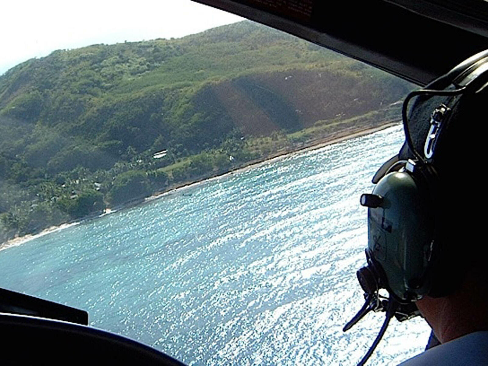 A pilot on a helicopter near Hotel Cascais Miragem