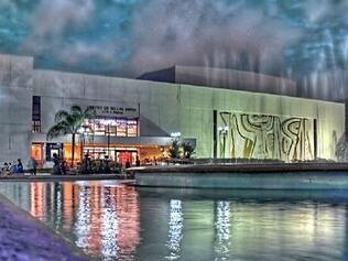 exterior of Luis A Ferre Performing Arts center