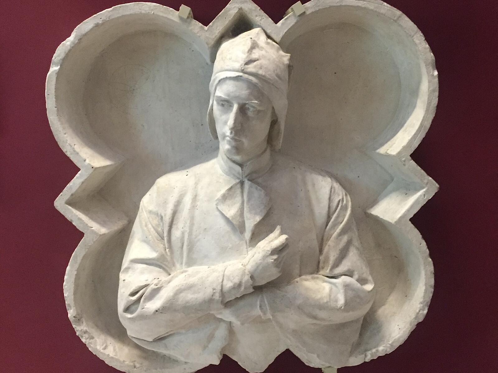 A statue at Grand Hotel Minerva