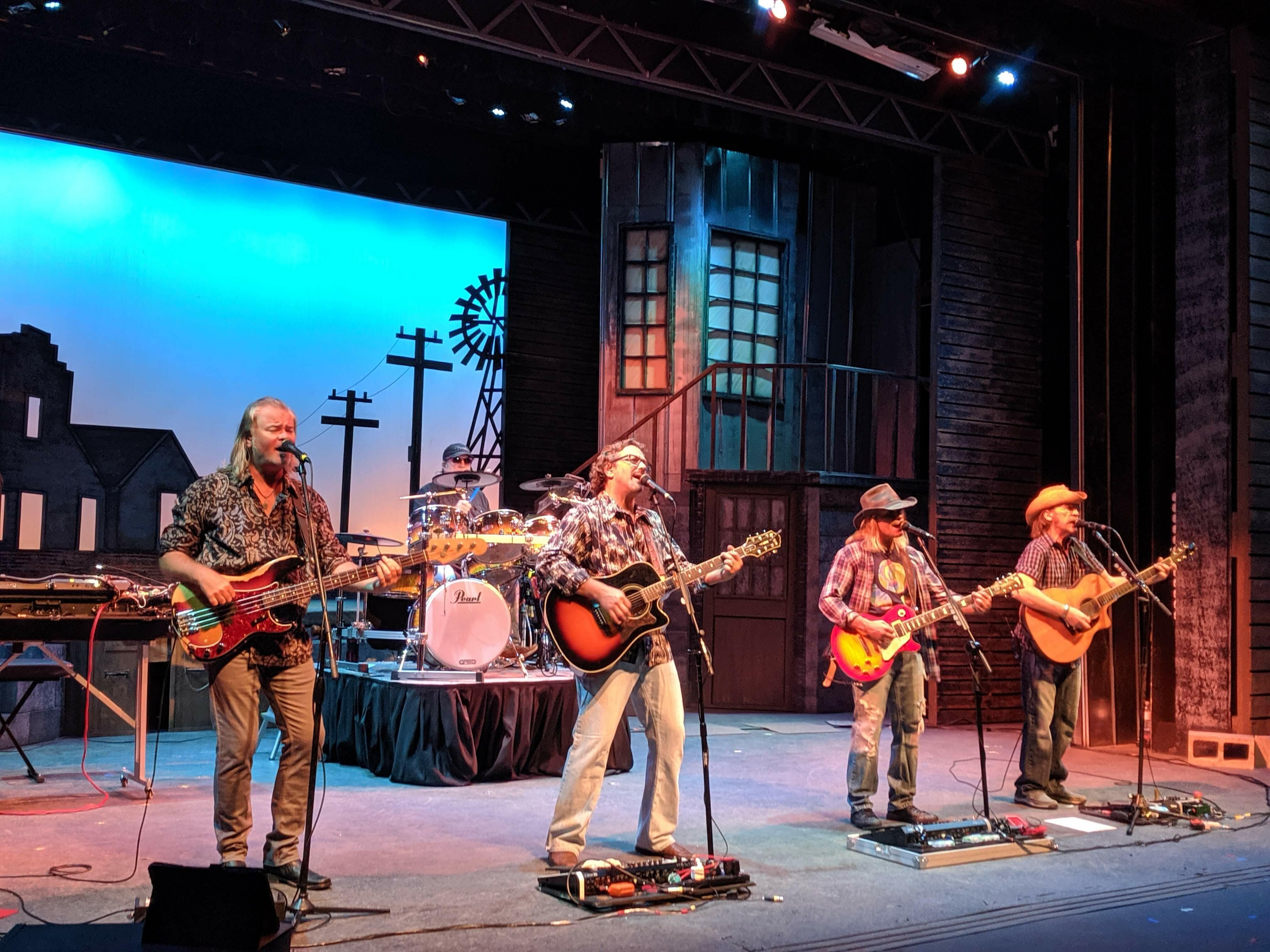 Outdoor concert at the Daytona Beach Bandshell