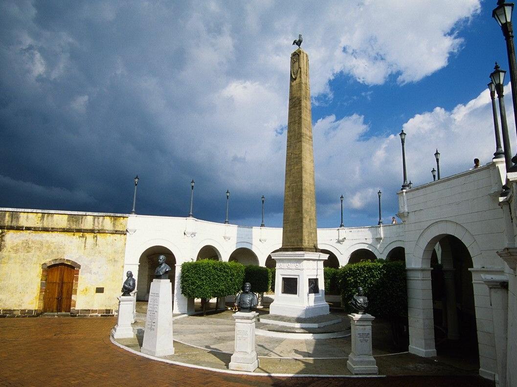Plaza Herrera nearby Central Hotel Panama
