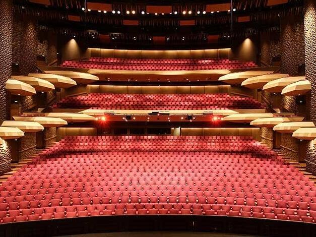 Interior view of Theatre at Adelaide Festival Centre
