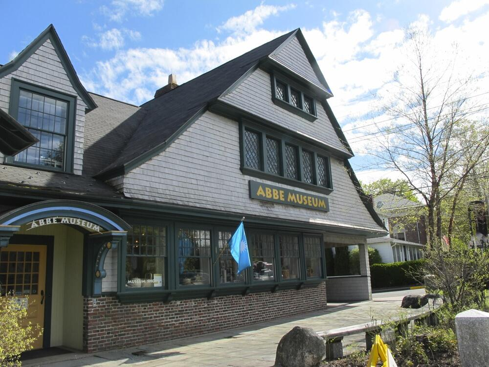 exterior of Abbe Museum