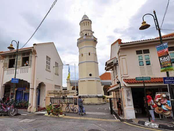 Places of Interest - Acheen Street Mosque Penang