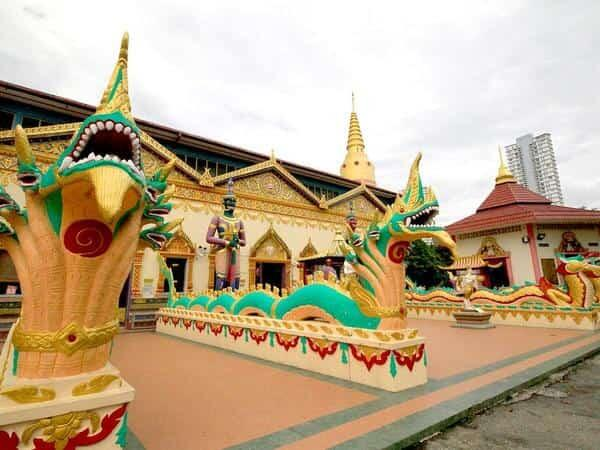 Places of Interest - Dhammikarama Burmese Temple Penang