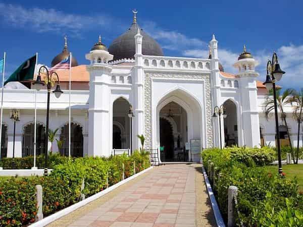 Places of Interest - Kapitan Keling Mosque in Jalan Buckingham Penang