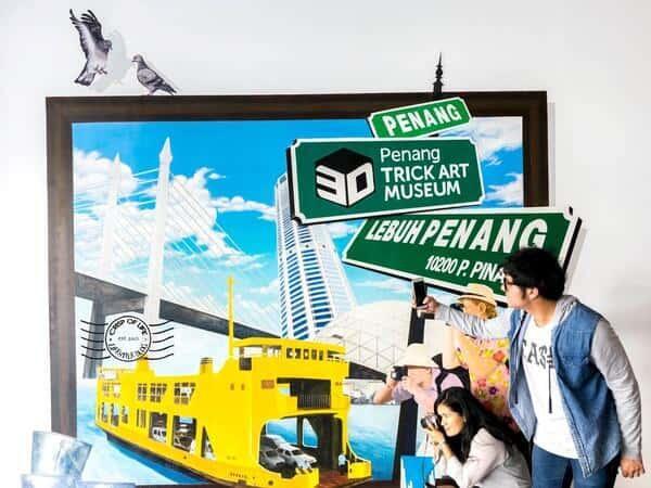 Places of Interest - Penang 3D Trick Art Museum