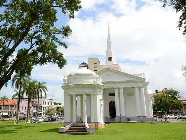 Places of Interest - St. George's Church Penang