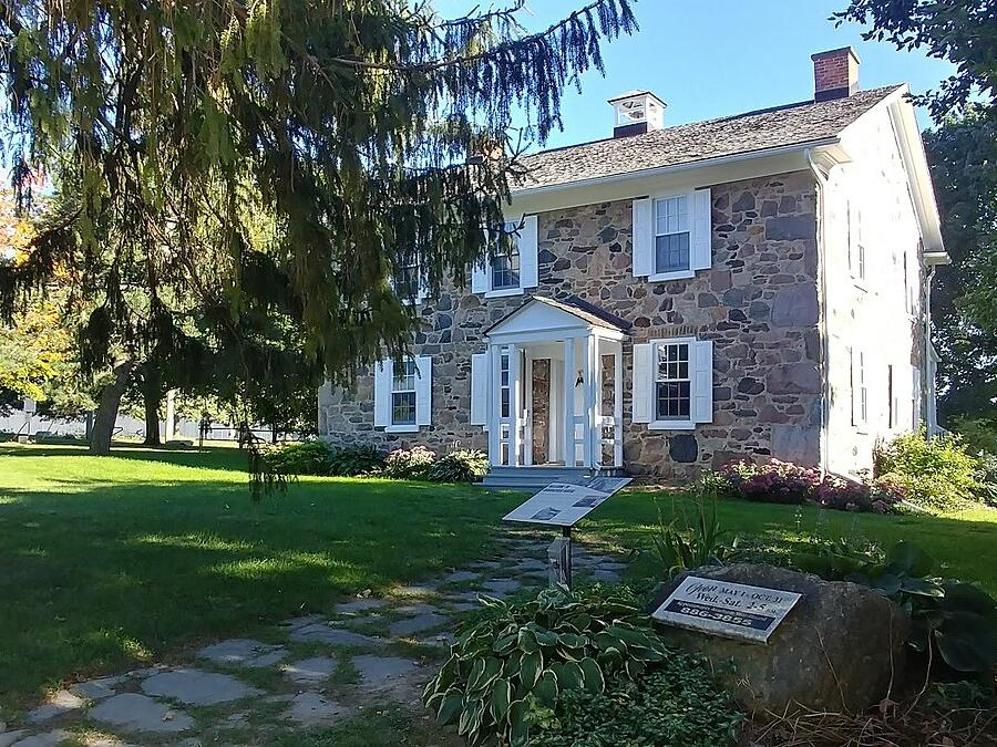 A view of the Brubacher House near The Inn of Waterloo