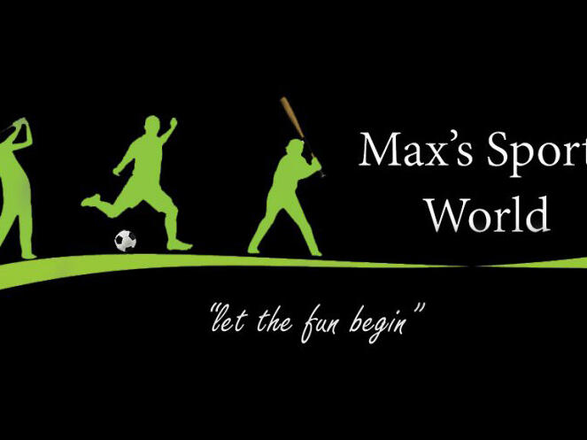 A poster of Max's sport world